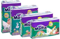 شراء Diapers Molfix Dry&Soft