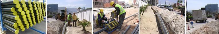 شراء Tubes PEHD destinés aux réseaux de distribution de gaz