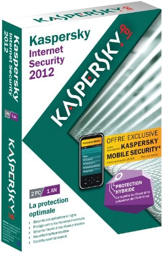 شراء Antivirus Kaspersky Internet Security 2012