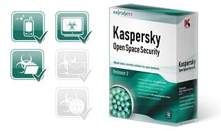 شراء Antivirus Kaspersky Business Space Security