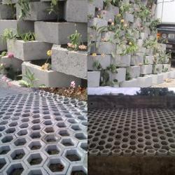 شراء Mur floral Retenus Hexagonale