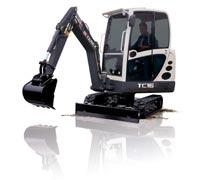 شراء Compact Crawler Excavators Terex
