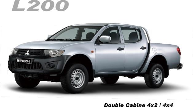 شراء Pick-up Mitsubishi L200 DC 4X4 GLX