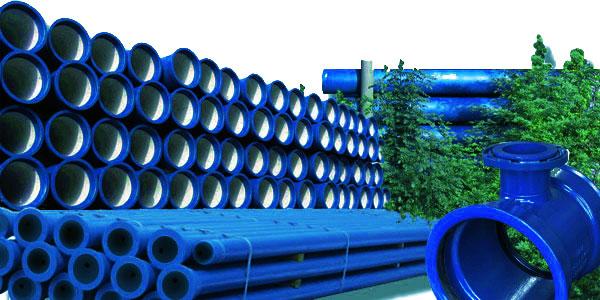 شراء A complete pipe system for DN 60 to 600 blue iron