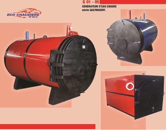 شراء Générateur d'eau chaude mixte Gaz/Mazout G 01 - 05