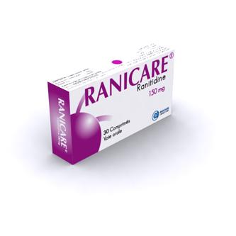 شراء Médicaments Antisécrétoires gastriques Ranicare