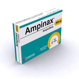 شراء Antibiotique de la famille des bêtalactamines Ampinax 500