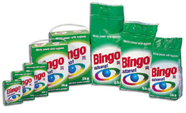 Detergents for Automatic Washing Machines Bingo Automat