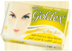 Savon de beauté Goldex