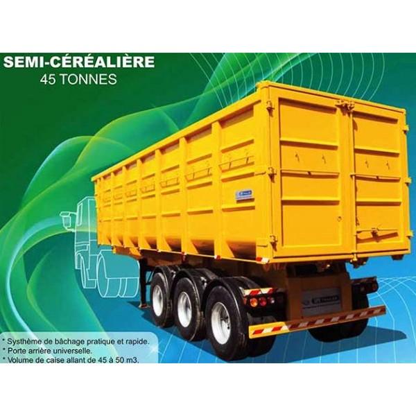 شراء Semi-remorque Benne Cerealiere 45 T