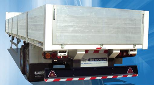 شراء Semi-Remorque Plateau a deux essieux a ridelle en aluminium