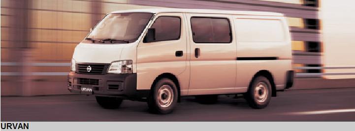 شراء Camionnette Nissan Urvan