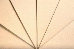 La plaque en carton ondulé