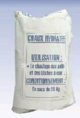Chaux hydratée