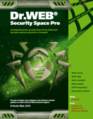 Antivirus Dr.Web Security space Pro