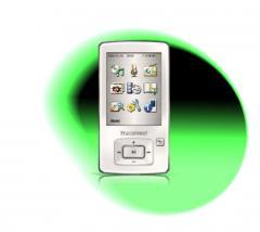Lecteur MP3 Transcend 8GB MP650 Blanc