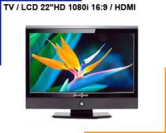 "Tv lcd 22"" HD Maxipower (hdmi) emtl"