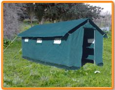 Tente pour chantier T/M16