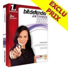 Licence antivirus Bitdefender 3 Postes original