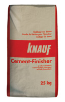 Enduits de base Cement-Finisher 25 kg