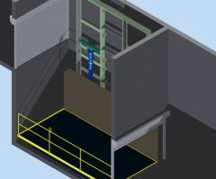 Ascenseurs pour voitures Kleemann KTS 2/M