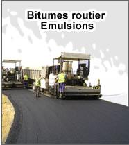 Bitumes routier Emulsions