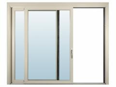 Fenêtre Coulissante PVC 2 en Double Vitrage Claire