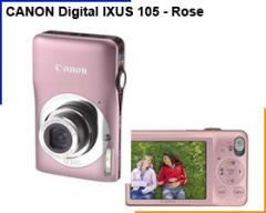Appareil photo numérique Canon Digital Ixus 105 -