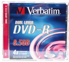 DVD-r Virbatim Dual Layer