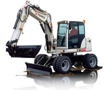 Wheeled Excavators Terex
