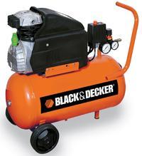 Compresseur Black & Decker 24 Litres