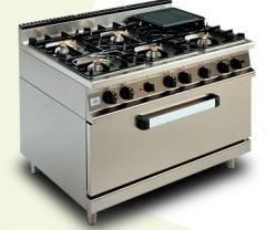 Cuisinière de 6 feux sur four type CG906II