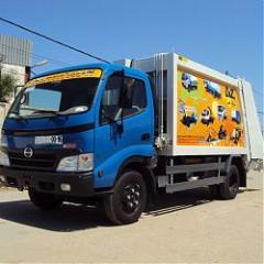 Camion Benne tasseuse 7M³