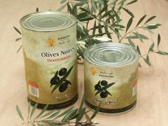 Olives noires dénoyautées