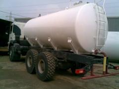 Citernes pour le stockage d'eau et carburant