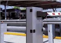 Barrières automatiques pour passages jusqu'à 6,5 m