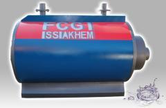 La chaudière FCGI en acier