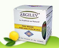 Argile verte à l'huile citron