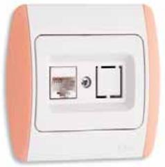 Computer socket outlet RJ 45