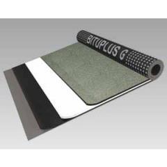 Membrane d'étanchéité revêtue de minéraux.