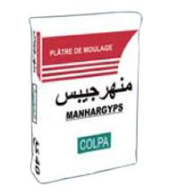 Le plâtre Manhargyps Moulage