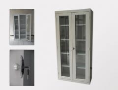 Armoire métallique vitrees
