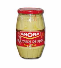Moutarde de Dijon Fine et Forte 440gr AMORA