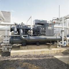 Compresseurs centrifuges pour air et azote,