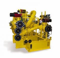 Compresseur centrifuge à engrenage intégré pour