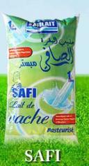 Lait de vache entier Safi