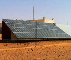 D'électrification rurale par l'énergie