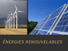 Programme des énergies renouvelables