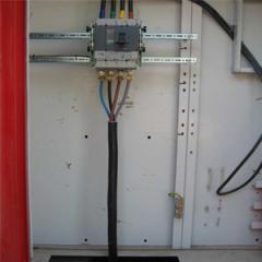 Raccordement des câbles