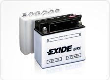 Batterie de moto Exide Conventional